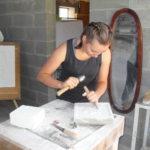 VLUU L200 Manon taillant une feuille de vigne/ Samsung L200